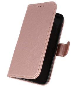 Roze booktype wallet case Hoesje voor Samsung Galaxy J3 2018