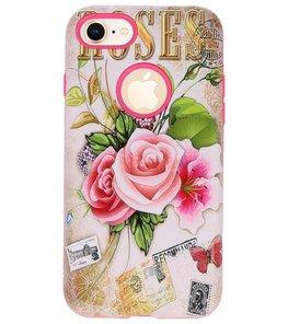 Roses 3D Print Hard Case voor Apple iPhone 7 / 8