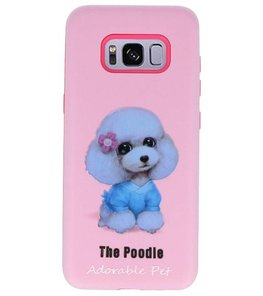 The Poodle 3D Print Hard Case voor Samsung Galaxy S8