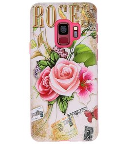 Roses 3D Print Hard Case voor Samsung Galaxy S9