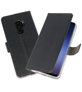 Zwart Wallet Cases Hoesje voor Samsung Galaxy S9 Plus