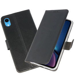 Zwart Wallet Cases Hoesje voor iPhone XR