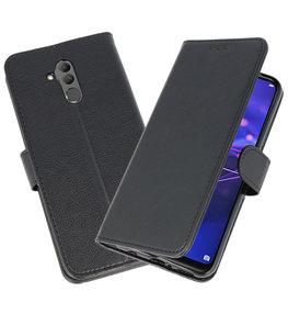 Wallet Cases Hoesje voor Huawei  Mate 20 Lite Zwart