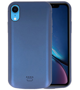 Battery Case voor iPhone XR 5000 mAh Blauw