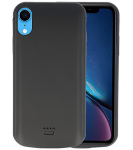Battery Case voor iPhone XR 5000 mAh Zwart