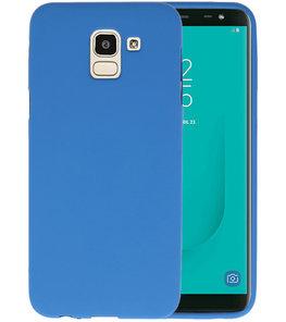 Color TPU Hoesje voor Samsung Galaxy J6 Navy