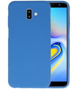 Color TPU Hoesje voor Samsung Galaxy J6 Plus Navy