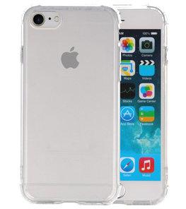 Schokbestendig TPU hoesje voor iPhone 8 / 7 Transparant