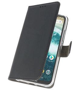 Wallet Cases Hoesje voor Moto E5 / G6 Play Zwart