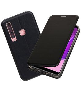 Slim Folio Case voor Samsung Galaxy A9 2018 Zwart