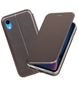 Slim Folio Case voor iPhone XR Grijs
