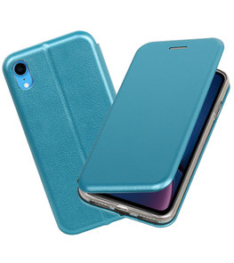 Slim Folio Case voor iPhone XR Blauw