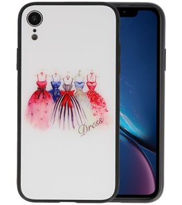 Print Hardcase voor iPhone XR Dress