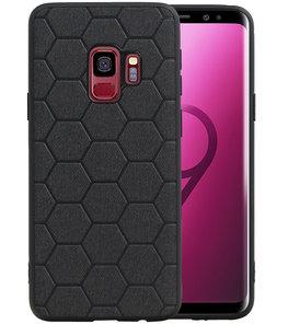 Hexagon Hard Case voor Samsung Galaxy S9 Zwart