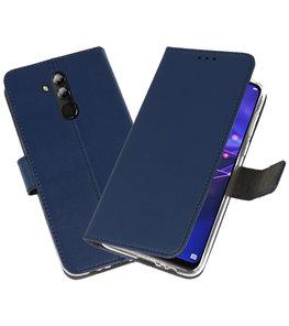 Wallet Cases Hoesje voor Huawei Mate 20 Lite Navy