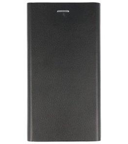 Zwart Folio flipbook Hoesje voor Apple iPhone 7 / 8