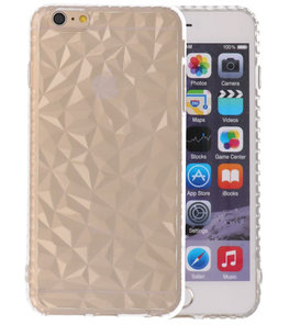 Transparant Geometric Style Siliconen Hoesjes voor iPhone 6 Plus