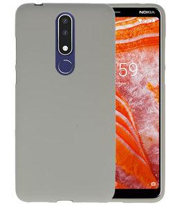Grijs Color TPU Hoesje voor Nokia 3.1 Plus