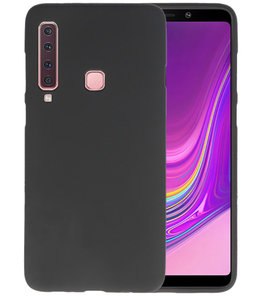 Zwart Color TPU Hoesje voor Samsung Galaxy A9 2018
