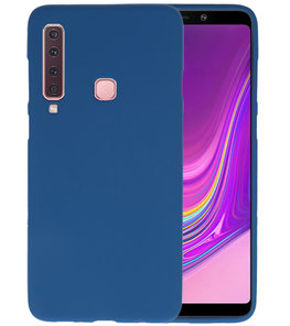 Navy Color TPU Hoesje voor Samsung Galaxy A9 2018