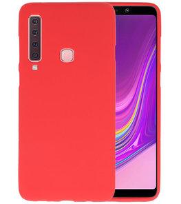 Rood Color TPU Hoesje voor Samsung Galaxy A9 2018