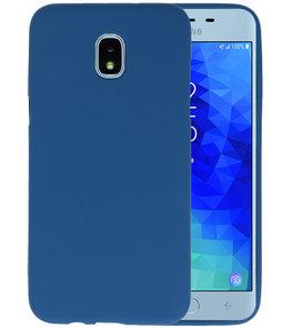 Navy Color TPU Hoesje voor Samsung Galaxy J3 2018
