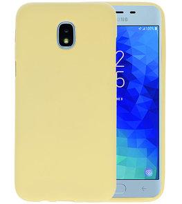 Goud Color TPU Hoesje voor Samsung Galaxy J3 2018