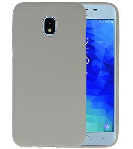 Grijs Color TPU Hoesje voor Samsung Galaxy J3 2018