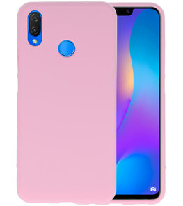 Roze Color TPU Hoesje voor Huawei P Smart Plus