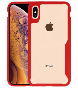 Rood Focus Transparant Hard Cases iPhone XS Max