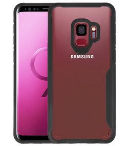 Zwart Focus Transparant Hard Cases voor Samsung Galaxy S9