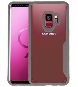 Grijs Focus Transparant Hard Cases voor Samsung Galaxy S9