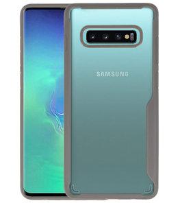 Grijs Focus Transparant Hard Cases voor Samsung Galaxy S10 Plus