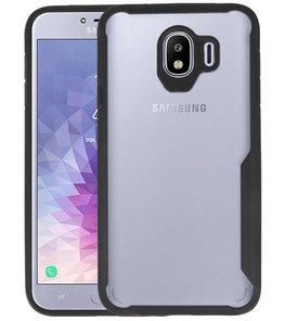 Zwart Focus Transparant Hard Cases Samsung Galaxy J4