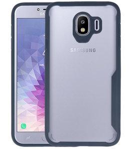 Navy Focus Transparant Hard Cases Samsung Galaxy J4
