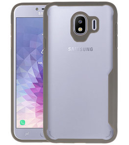 Grijs Focus Transparant Hard Cases Samsung Galaxy J4