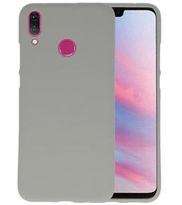 Color TPU Hoesje voor Huawei Y9 2019 Grijs