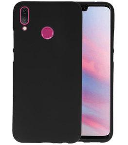 Color TPU Hoesje voor Huawei Y9 2019 Zwart