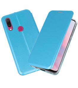 Slim Folio Case voor Huawei Y9 2019 Blauw