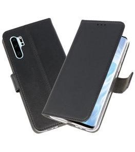 Booktype Wallet Cases Hoesje voor Huawei P30 Pro Zwart