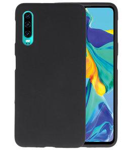 Color TPU Hoesje voor Huawei P30 Zwart