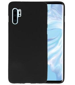 Color TPU Hoesje voor Huawei P30 Pro Zwart