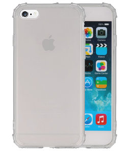 Schokbestendig TPU Hoesje voor iPhone 6 Plus Transparant