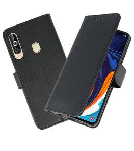 Bookstyle Wallet Cases Hoesje voor Samsung Galaxy A60 Zwart