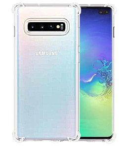 Schokbestendig transparant TPU hoesje voor Samsung Galaxy S10 Plus
