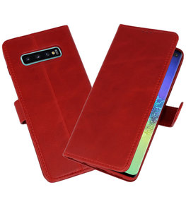 Rico Vitello Rood Echt Leder Hoesje voor Samsung Galaxy 10 Plus