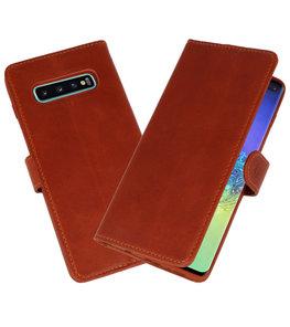 Rico Vitello Bruin Echt Leder Hoesje voor Samsung Galaxy 10 Plus