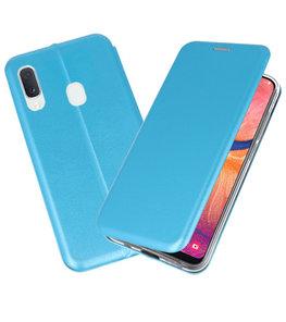 Slim Folio Case voor Samsung Galaxy A20e Blauw