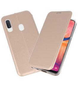Slim Folio Case voor Samsung Galaxy A20e Goud