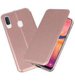 Slim Folio Case voor Samsung Galaxy A20e Roze